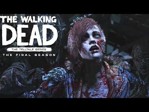 THE WALKING DEAD SEASON 4 EPISODE 4 All Endings - The Walking Dead The Final Season Ending
