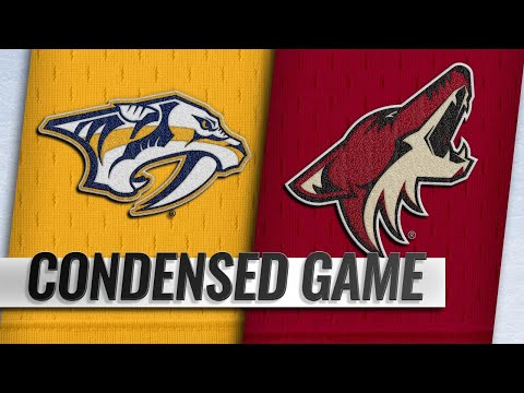 11/15/18 Condensed Game: Predators @ Coyotes
