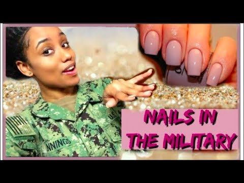 Nails In The NAVY 💅🏽| Nails After Bootcamp