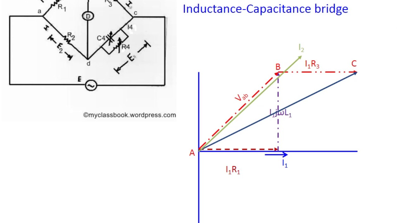 Maxwellsinductance capacitancebridge youtube maxwellsinductance capacitancebridge pooptronica Images