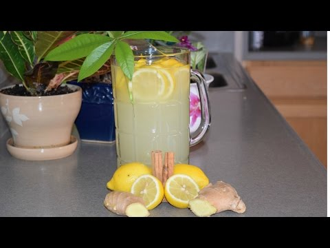 Ginger and Lemon Tea Fast Weight Loss all natural