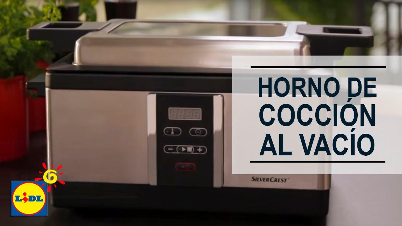 Horno de cocci n al vac o lidl espa a youtube - Maquina de cocinar ...