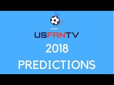 USfanTV: 2018 US Soccer Predictions