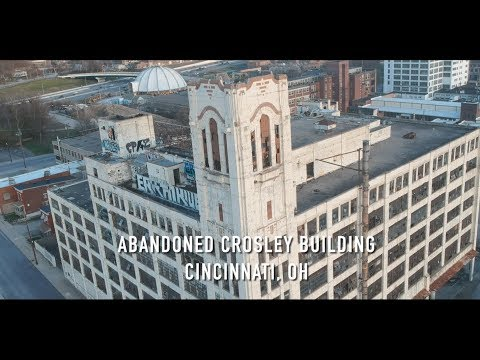 Abandoned Crosley Building - Cincinnati, Ohio