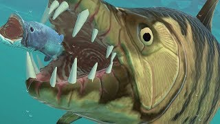NEW GIANT TIGER FISH vs NEW BOSS - Feed and Grow Fish - Part 125 | Pungence