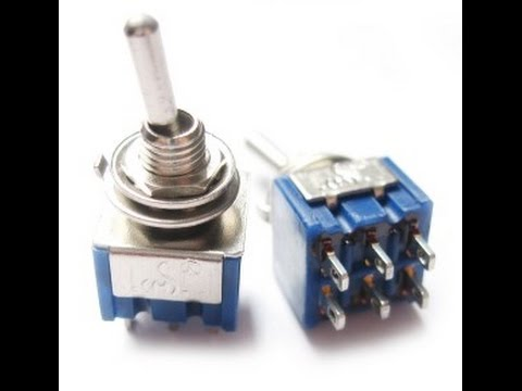 forward reverse DPDT switch wiring