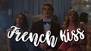 archie, betty, and veronica | french kiss | edit