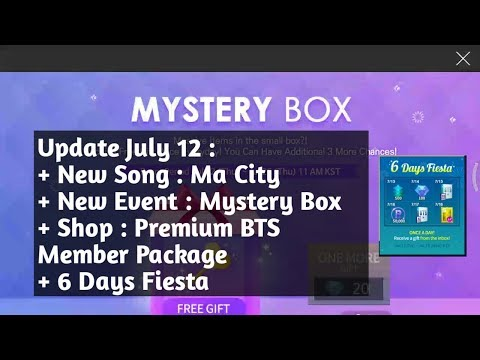 Mystery Box Event, Ma City and 6 Days Fiesta SUPERSTAR BTS