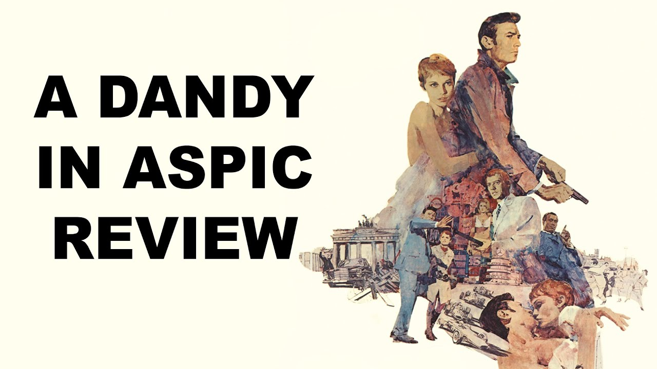 Download A Dandy in Aspic | Movie Review | 1968 | Indicator # 111 | spy thriller |  Blu-ray |