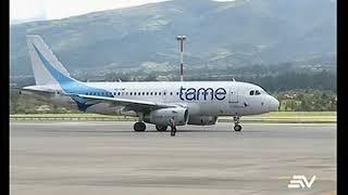 TAME suspenderá ruta que conecta Quito con Nueva York