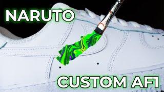 Custom Nike Air Force Naruto