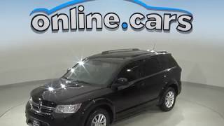 C99902RT Used 2014 Dodge Journey SUV Black Test Drive, Review, For Sale
