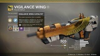 Destiny 2 - Full Auto Vigilance Wing Catalyst is a Beast