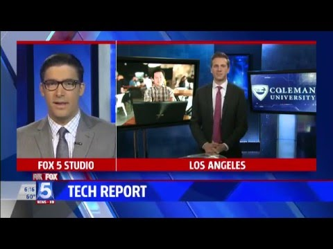FOX 5 Tech Report Sponsored by Coleman University (3/14/16)