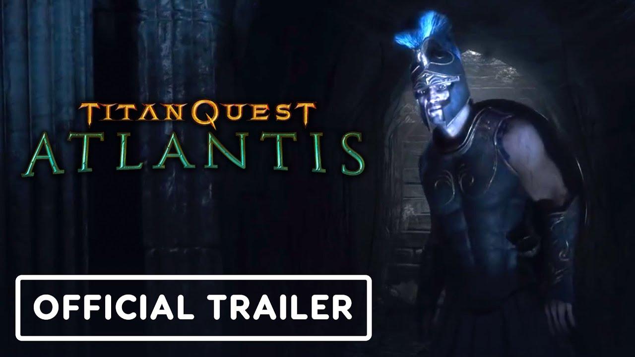 Titan Quest: Atlantis - Trailer cinematográfico oficial + vídeo