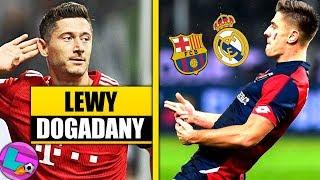 Piątek może wybierać REAL i BARCELONA czekają! Lewandowski dogadany z Bayernem!