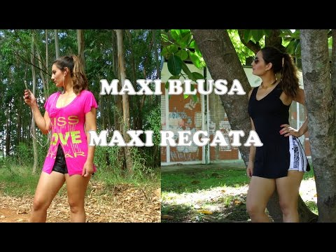 FAÇA VOCÊ MESMO SUA MAXI BLUSA E MAXI...