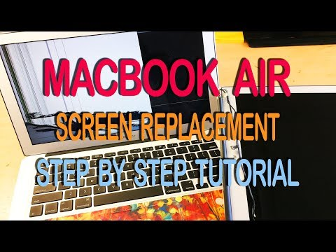 Macbook Air 2015 Screen Replacement - Step By Step