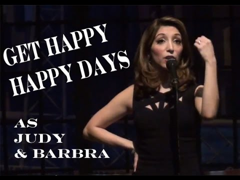 Get Happy/Happy Days - Christina Bianco Impersonates Judy Garland & Barbra Streisand