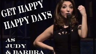 get happy happy days christina bianco impersonates judy garland barbra streisand