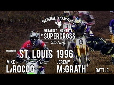 St.  Louis 1996 | Mike LaRocco and Jeremy McGrath battle