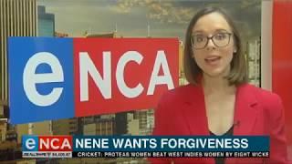 Finance Minister Nhlanhla Nene wants SA to forgive him