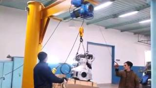 Пример работы консольного крана(Консольные краны любого исполнения по привлекательным ценам от завода изготовителя. (473)2000-715., 2015-09-21T11:55:46.000Z)