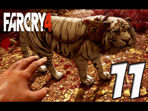 how to get a pet tiger on far cry 4