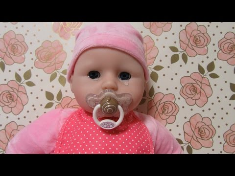 zapf-creations-baby-annabell-doll-unboxing-+baby-doll-cries-real-tears+pacifier-sucking-doll+feeding