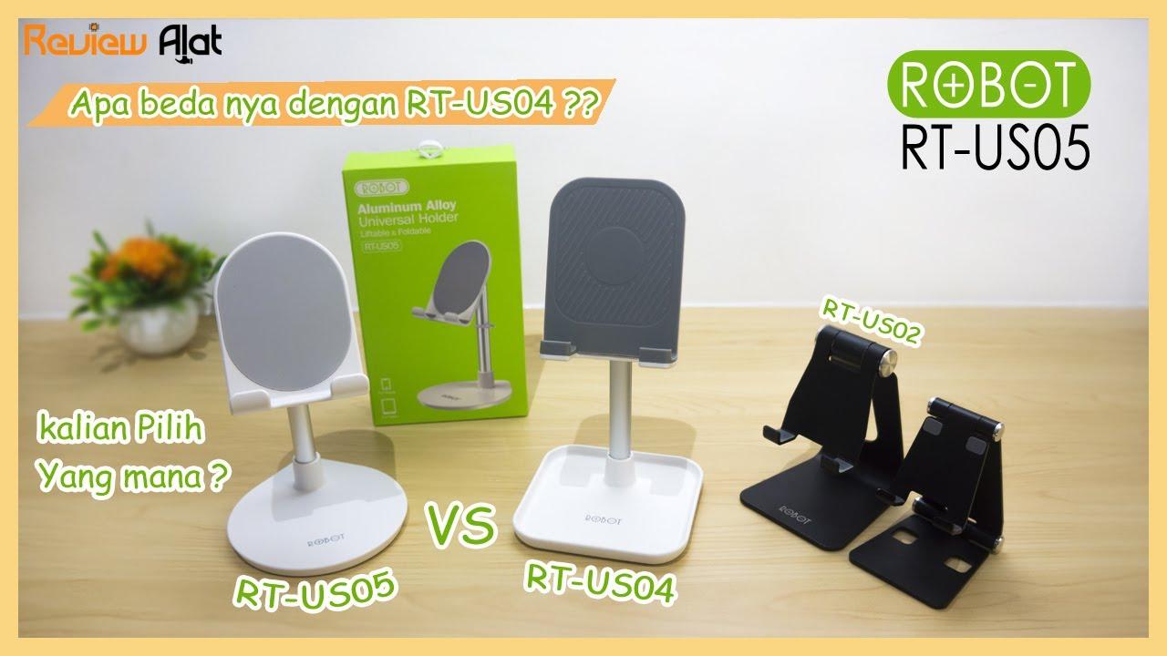 Stand Holder Robot RT-US05 - Perbedaan dengan RT-US04
