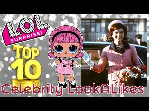 TOP 10 LOL SURPRISE DOLL REAL LIFE LOL CELEBRITY LOOK ALIKE