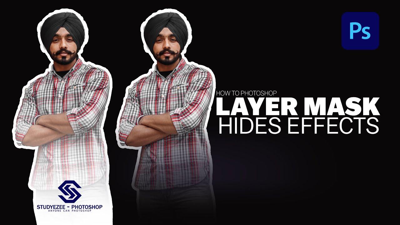 Layer Mask Hides Effects   layer mask photoshop   photoshop tips and tricks   फोटोशोप CC हिंदी 2021