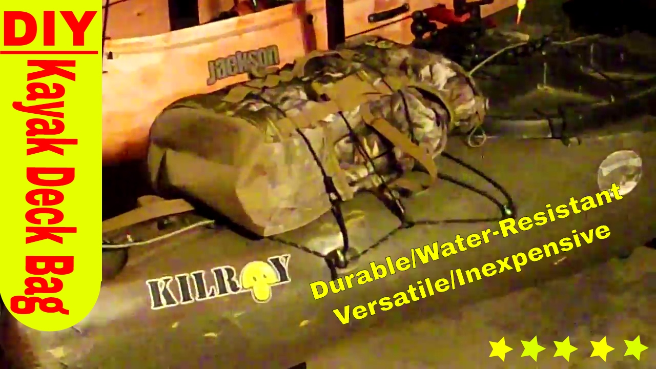 Diy Best Kayak Deck Bag Most Versatile Durable Water Resistant Multi Functional