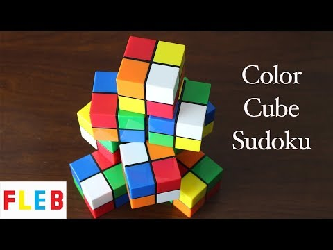 The Color Cube Sudoku Puzzle