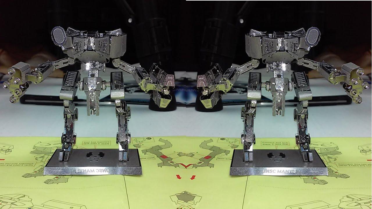 HALO UNSC Mantis – 3D Puzzle Store