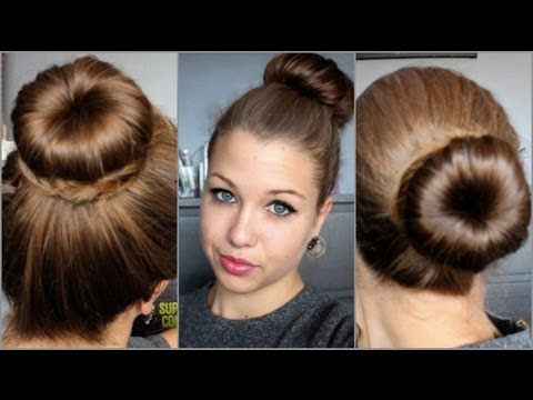 [Hair Tutorial n°19 ] : 3 buns with a donut!!