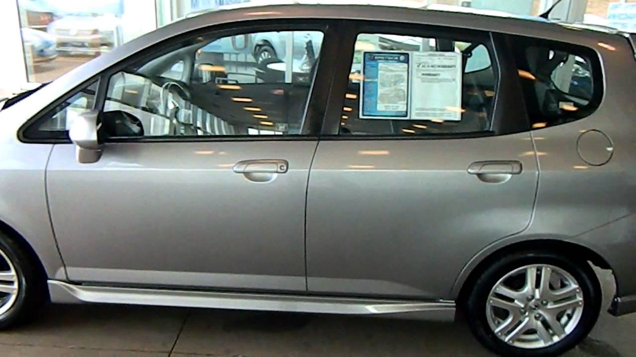 Storm Silver 2007 Honda Fit Sport Eastside Mazda Volkswagen In Cleveland Ohio Youtube