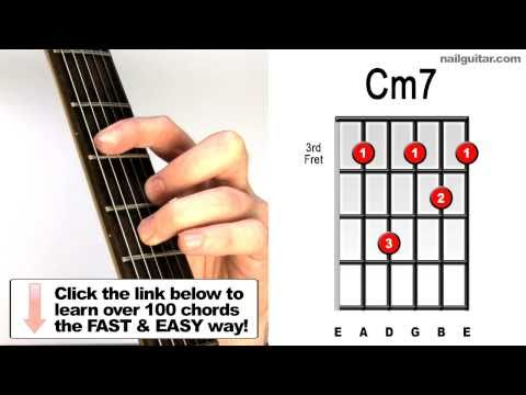 Cm7 - Guitar Chords Lessons