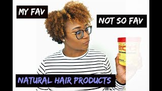 My Fav and Not So Fav Natural Hair Products in 2017