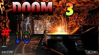 Doom 3 #10 HOLY HELL THIS GAME GET HARDER AND SO MUCH DEMON!