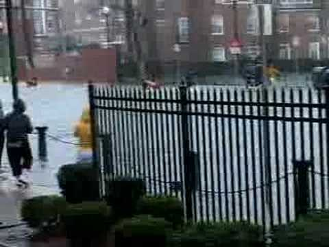 Iona College - Bad Weather Hits New Rochelle