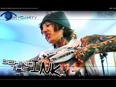 BRING ME THE HORIZON - Behind the INK (Tattoo Talk) with Oliver Sykes / www.pitcam.tv