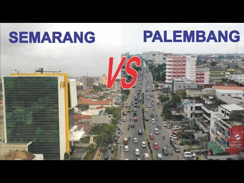 Kota Palembang VS Semarang, Kota Terbesar dan Ibukota Provinsi di Sumatera Selatan dan Jawa Tengah