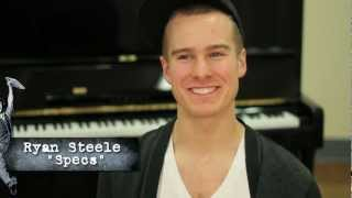 Meet the Newsies: Specs (Ryan Steele)