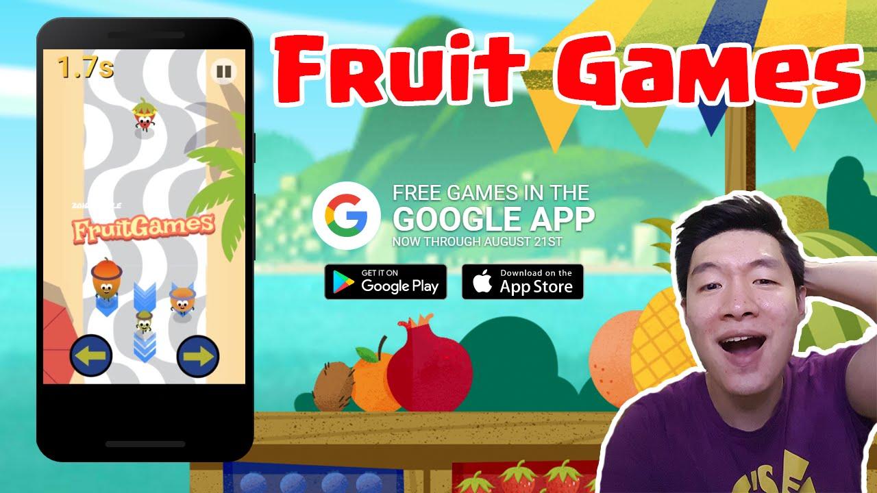 Fruit games free download - Google Doodle Fruit Games 2016