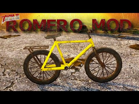 Shopping Cart And A Bicycle - Romero Mod Part 5 - 7 Days To Die Alpha 19 Zombie Survival Gameplay thumbnail