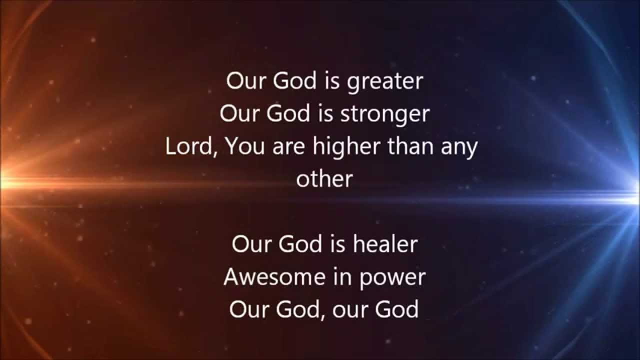 OUR GOD LYRICS PDF