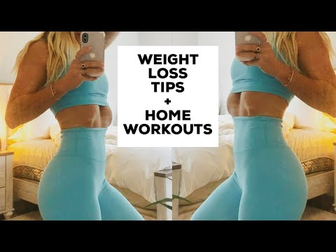 How To Lose Weight FAST // Weight Loss Tips & Home Workouts