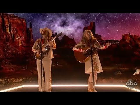 Gillian Welch and David Rawlings - When a Cowboy Trades His Spurs for Wings - Oscars 2019 Mp3