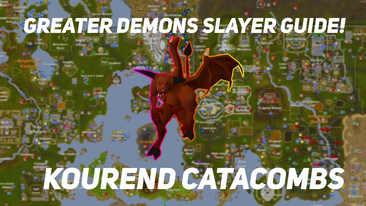 OSRS   Greater Demon Slayer Guide In Kourend Catacombs!